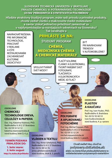 CHÉMIA, medicínska chémia a chemické materiály